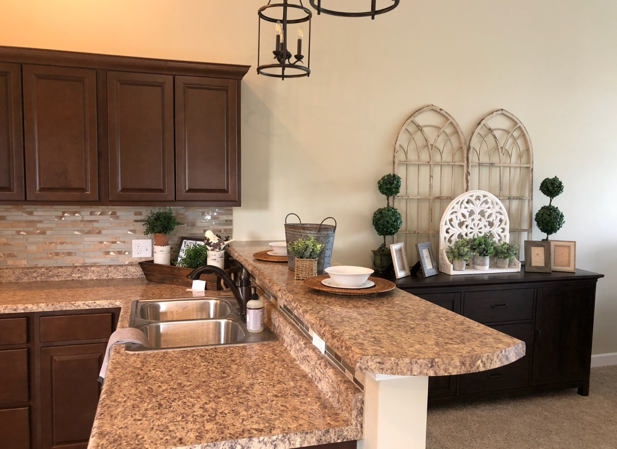 One thing I like to do for kitchen counter decor or table decor is to decorate using trays baskets or decorative boxes. This helps to contain various ... & Condo Staging by Jaime Lyn Life by Design \u2013 jaime lyn